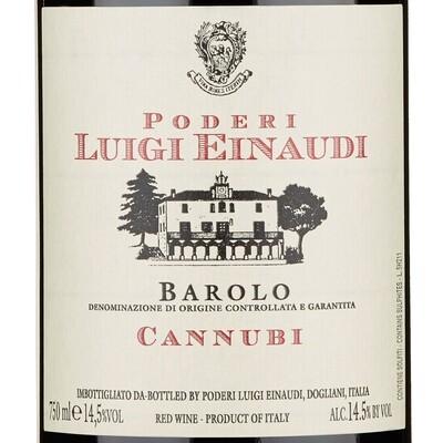 Poderi Luigi Einaudi Nei Cannubi, Barolo 2015 (750 ml)
