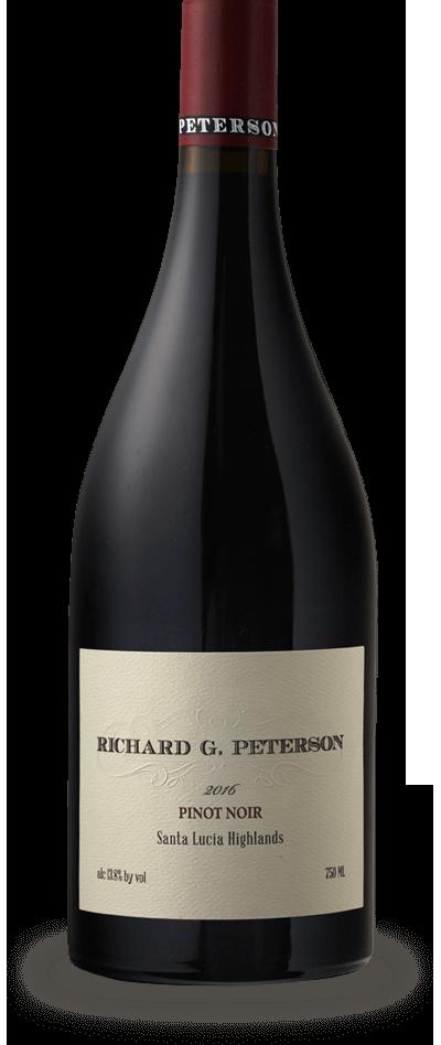 Amuse Bouche 'Richard G. Peterson' Pinot Noir, Santa Lucia Highlands 2016 (750 ml)