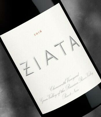 Ziata Pinot Noir, Russian River Valley 2016 (750 ml)