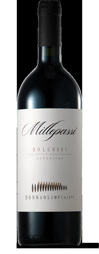 Donna Olimpia 1898 Millepassi Bolgheri Superiore, Tuscany 2013 (750 ml)