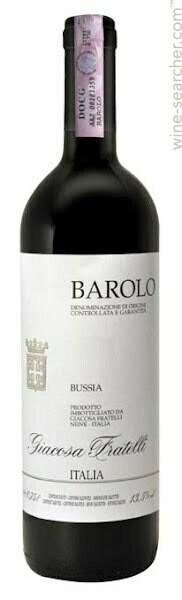 Fratelli Giacosa Bussia, Barolo 2013 (750 ml)