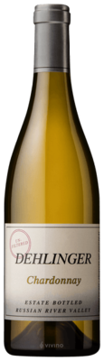 Dehlinger Estate Bottled Unfiltered Chardonnay, Russian River Valley 2017 (750 ml)