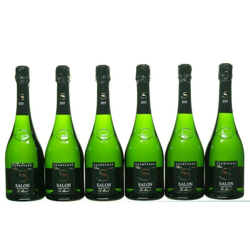 Salon Cuvee 'S' Le Mesnil Blanc de Blancs Brut, Champagne Library Pack 2004, 2006, 2007, 2008