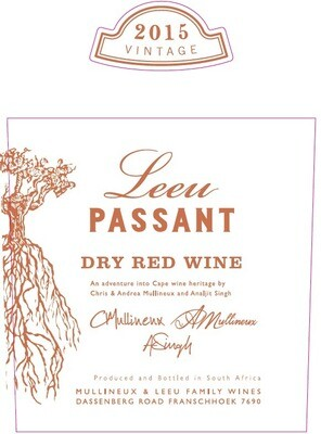 Leeu Passant Dry Red, Western Cape 2015 (750 ml)