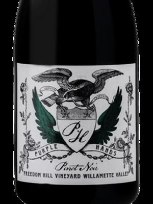 Purple Hands Freedom Hill Vineyard Pinot Noir, Willamette Valley 2018 (750 ml)