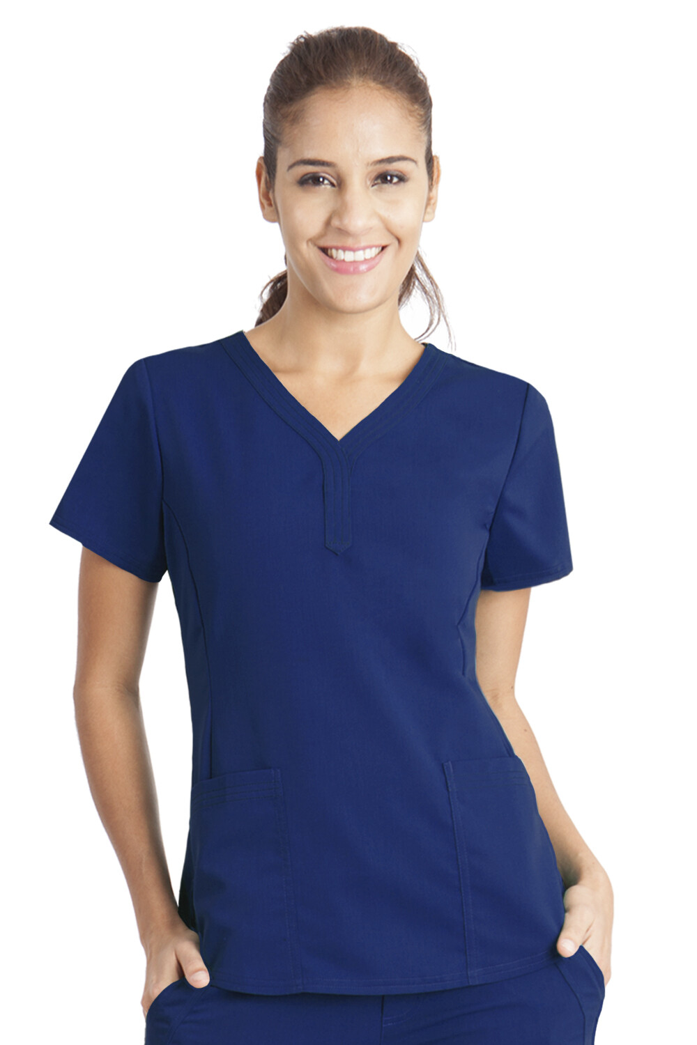 2167 JANE TOP - PL S NAVY