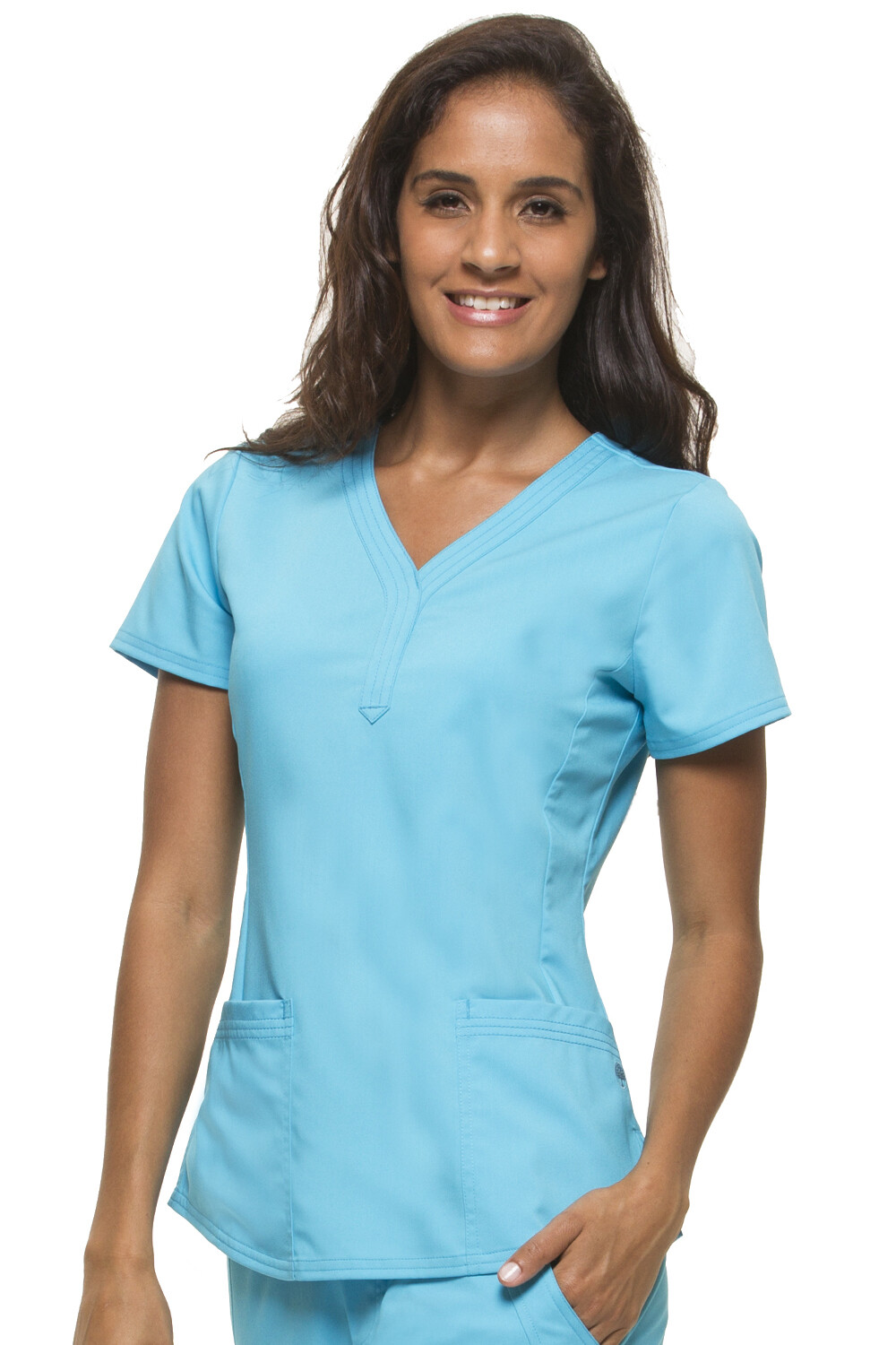2167 JANE TOP - PL 3X Turquoise