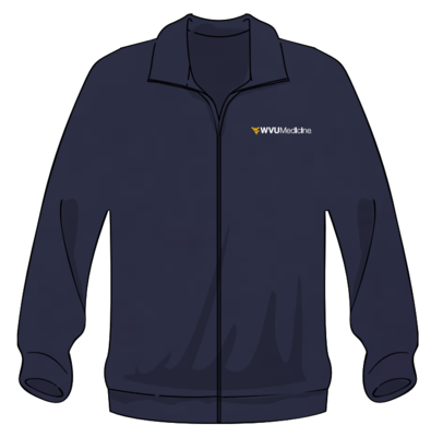 WVU MEDICINE FLEECE S Navy
