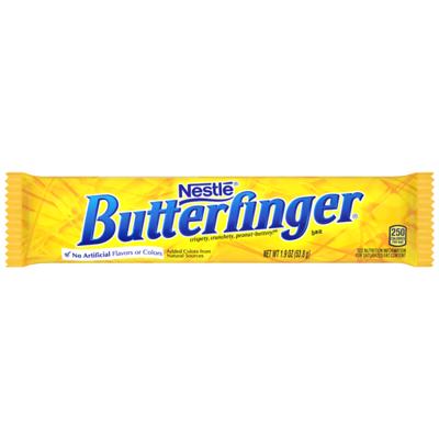 BUTTERFINGER BUTTERFINGER