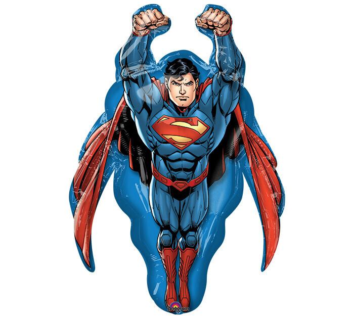 "34"" FLYING SUPERMAN SHAPE"