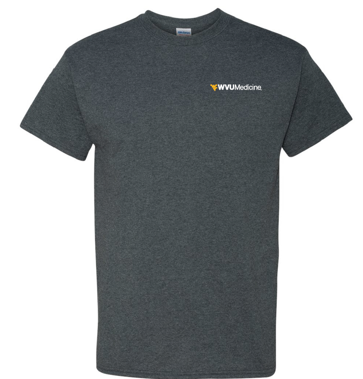 WVU MEDICINE S/S TEE PC61 L HEATHER