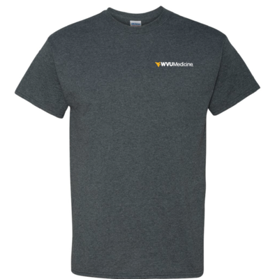 WVU MEDICINE S/S TEE PC61 M HEATHER
