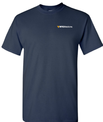 WVU MEDICINE S/S TEE PC61 XL NAVY