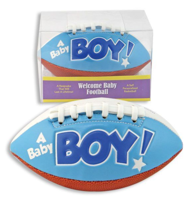 KEEPSAKE/ANNOUNCEMENT FOOTBALL BOY