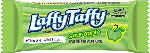 SOUR APPLE LAFFY TAFFY