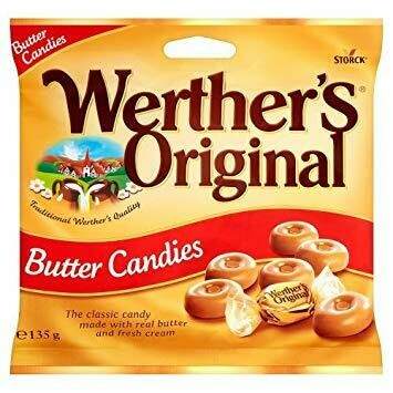 WERTHER'S ORIGINAL HARD CANDY ORIGINAL