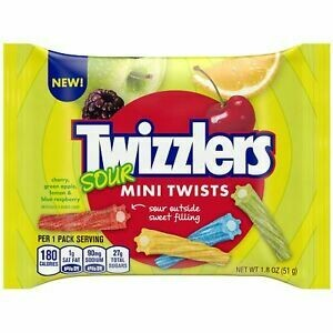 TWIZZLERS MINI SOUR TWIST