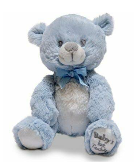 BABY'S 1ST TEDDY SQUEEZERS