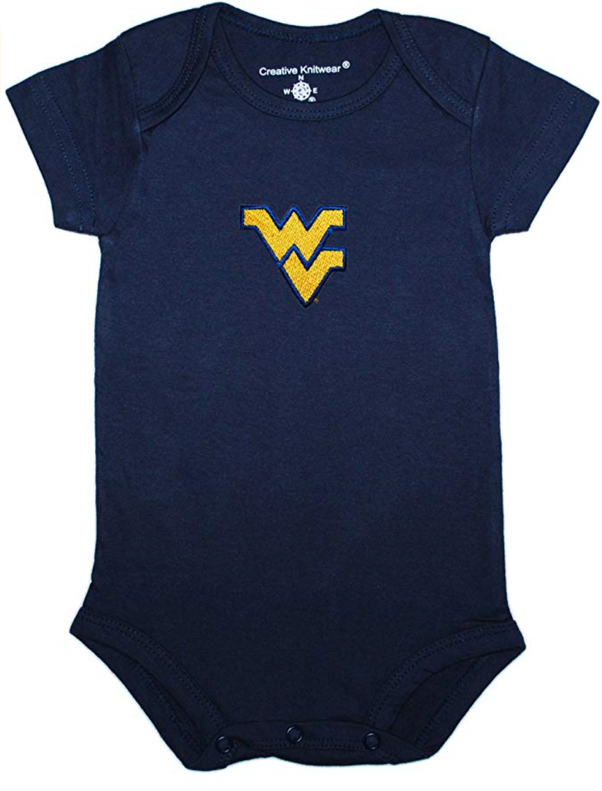 WV SOLID COLOR BODYSUIT NEWBORN-12 MONTH NAVY 6-9 MONTH