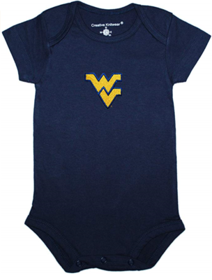 WV SOLID COLOR BODYSUIT NEWBORN-12 MONTH NAVY 0-3 MONTH
