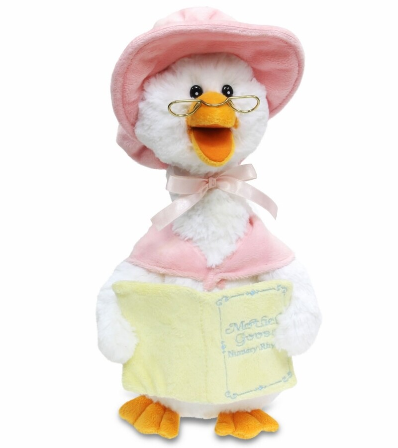 MOTHER GOOSE 7 RHYMES PINK