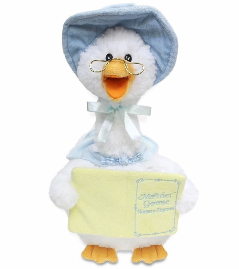 MOTHER GOOSE 7 RHYMES BLUE