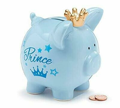 PIG SHAPE BANK PRINCE PIG