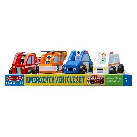 EMERGENCY VEHICLE SET 9285-EMERGENCY VEHICLES