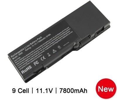 Bateria 7800mAh para Dell Inspiron 1501 6400 E1505 Vostro 1000 PD945 GD761 KD476