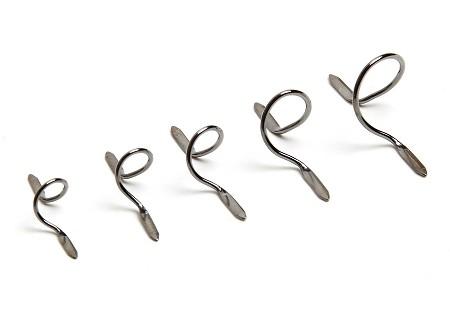 Snake Brand Fly Rod Guide Set black nickel