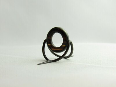 Agate Perfect Stripping Guide Ring 12mm brown / banded