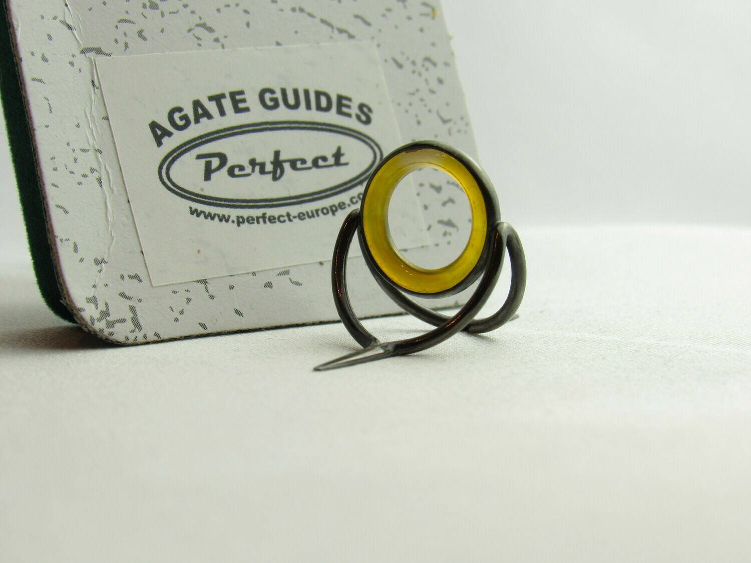 Agate Perfect Stripping Guide Ring 12mm gelb / yellow