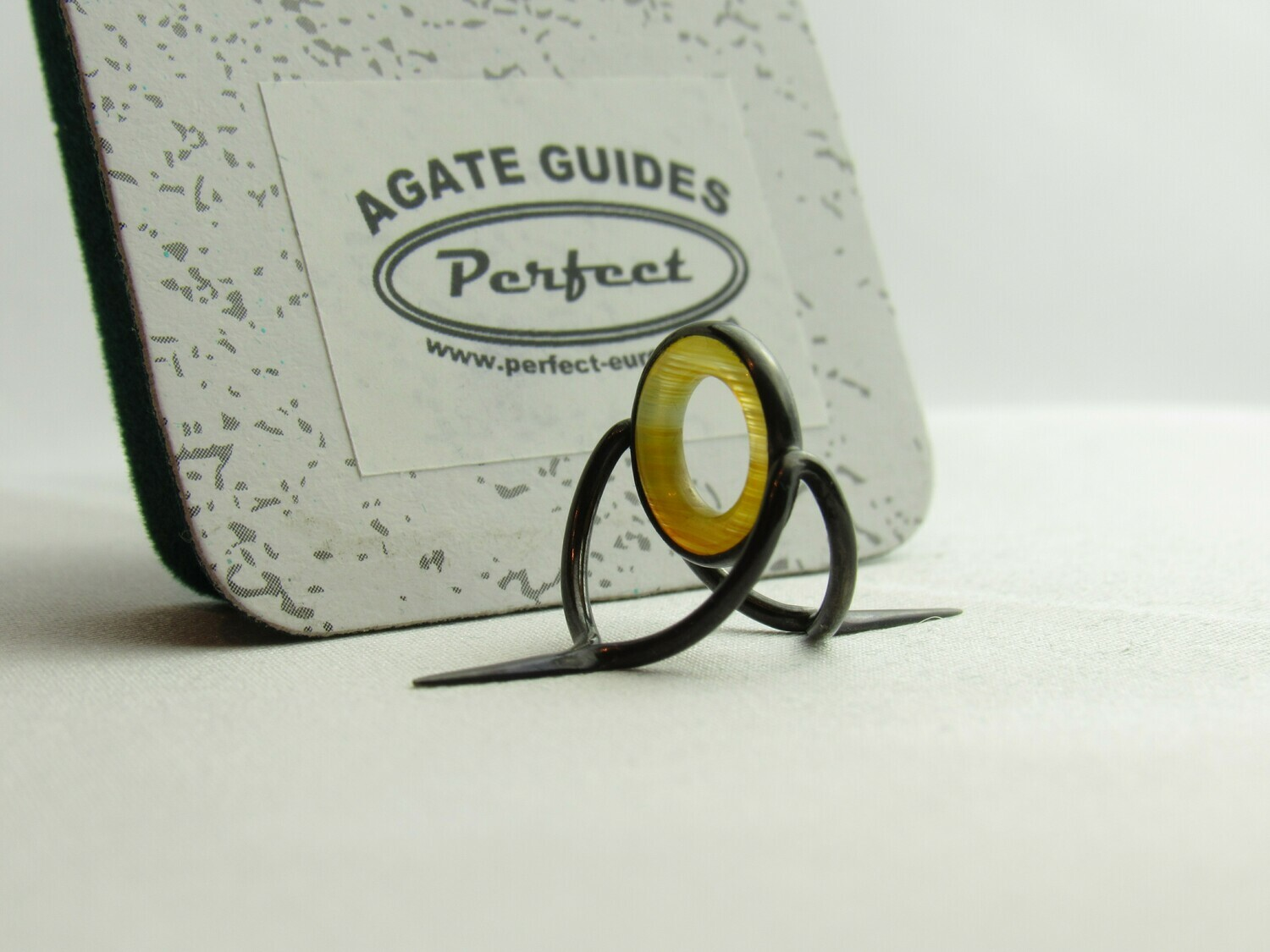 Agate Perfect Stripping Guide Ring 10mm gelb / yellow banded