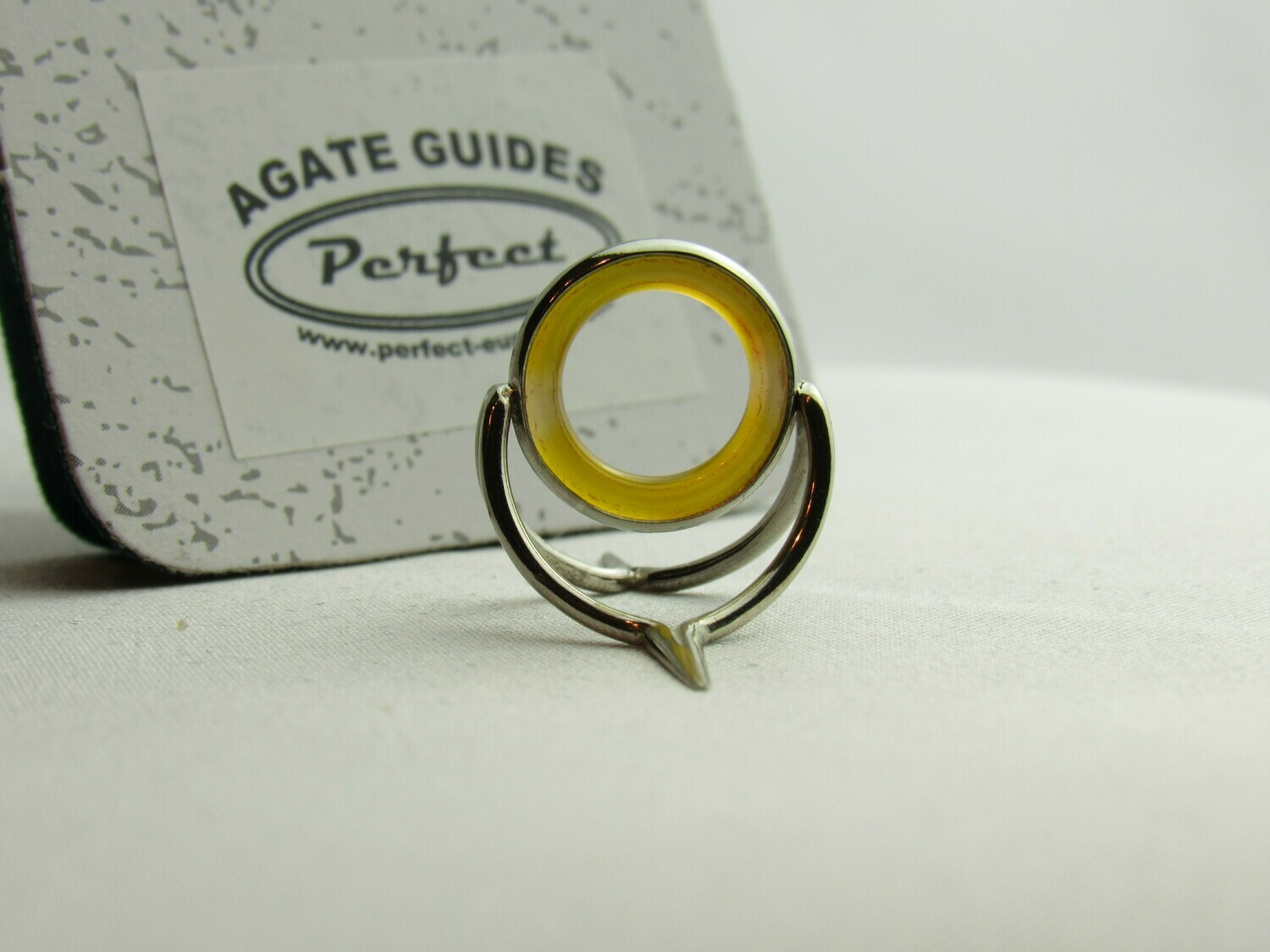 Agate Perfect Stripping Guide Ring 12mm orange clear