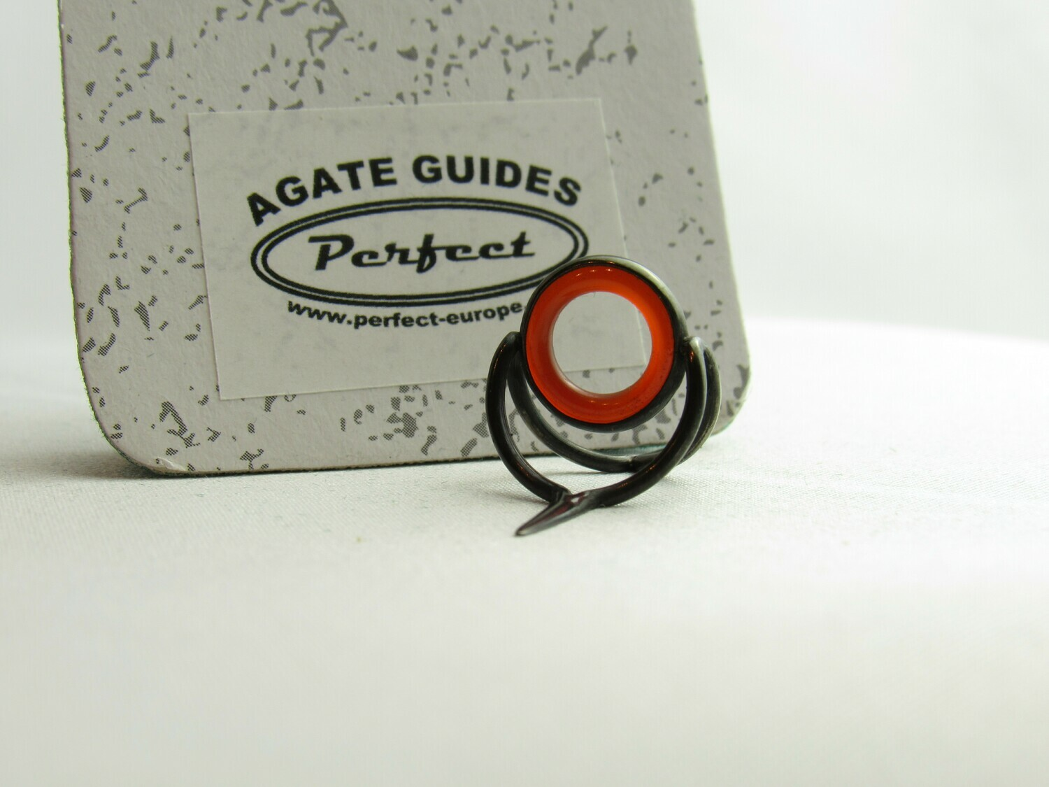 Agate Perfect Stripping Guide Ring 10mm red rot