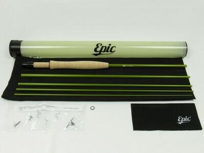 Epic Swift 476 Packlight Olive Fly  Rod Kit