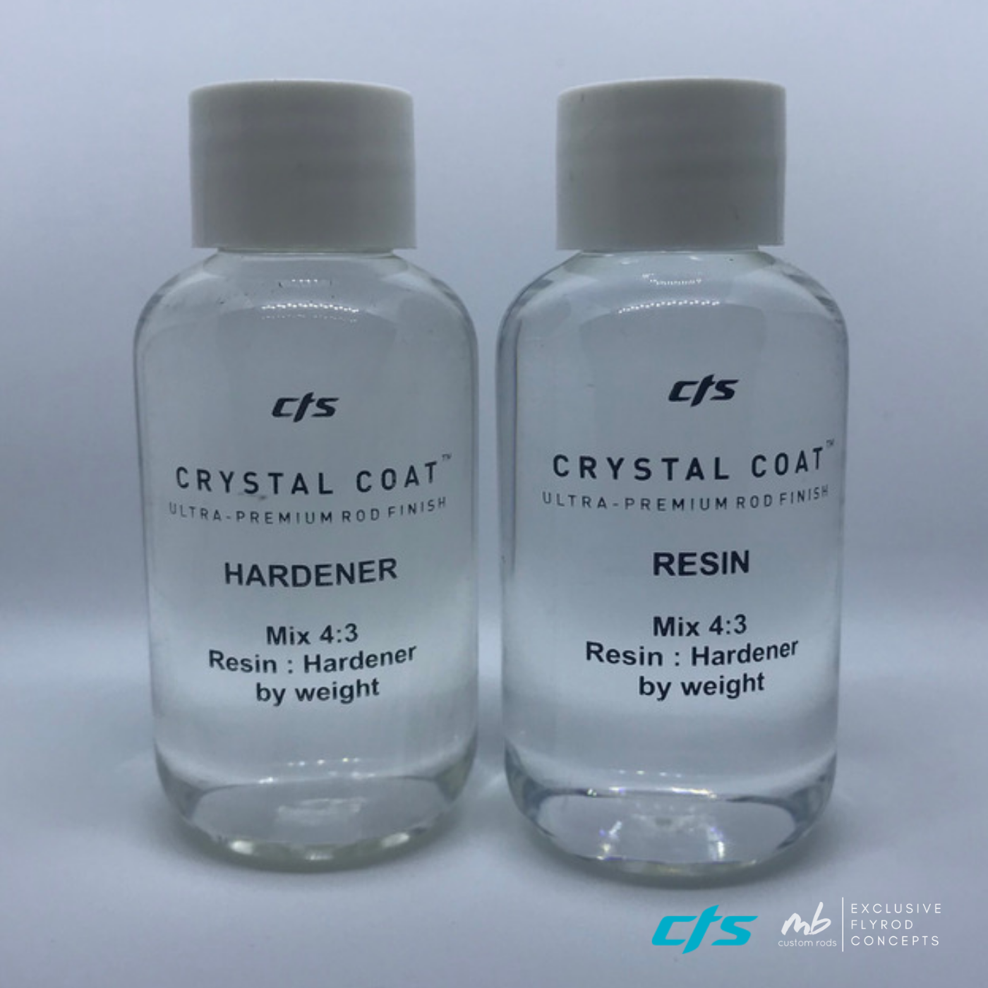 CTS - Crystal Coat Rod Finish / Rutenbaulack div. Gebinde