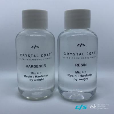 CTS Crystal Coat Resin 90gramm Rod Finish