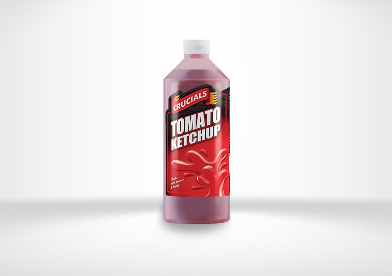 Crucial Tomato Ketchup Bottles