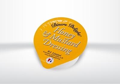 Harrisons Honey & Mustard Dip Pots