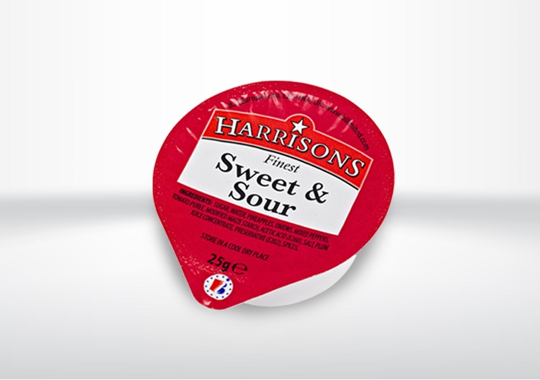 Harrisons Sweet & Sour Dip Pots