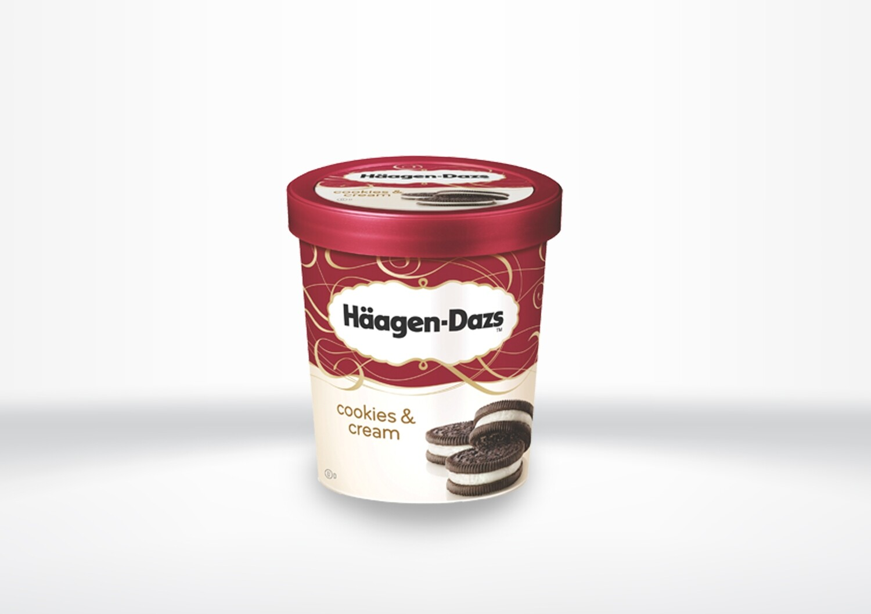 Häagen Dazs - Cookies & Cream