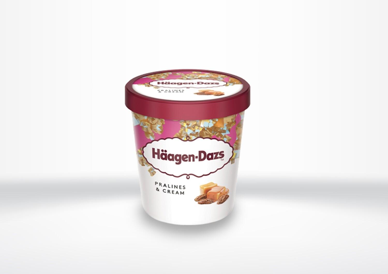 Häagen Dazs - Pralines & Cream