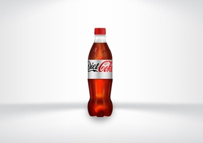 500ml GB Diet Coke Bottles