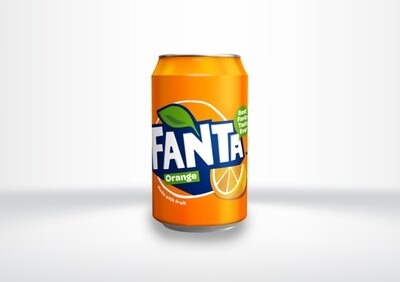 Fanta Orange Cans