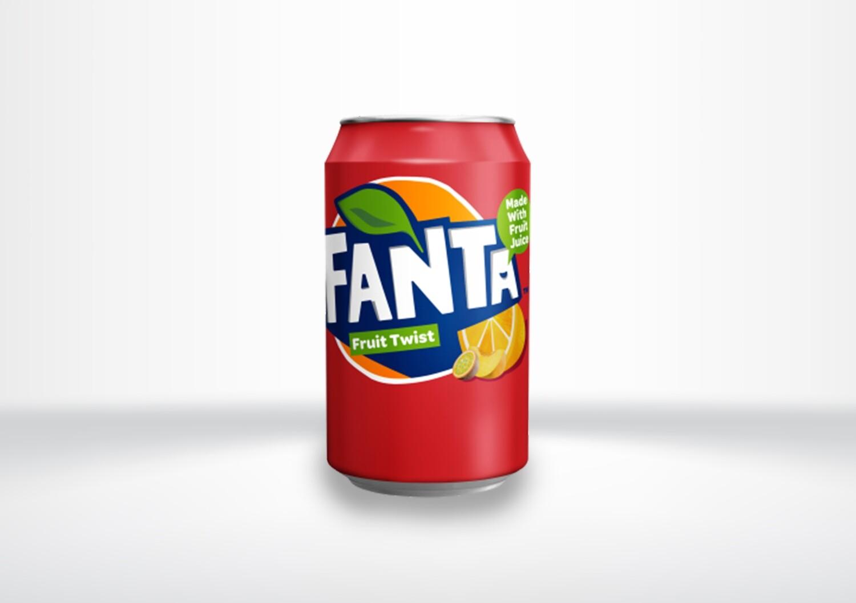 **GB** Fanta Fruit Twist Cans