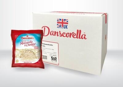 Dansco SHREDDED 80% Mozzarella/20% Cheddar