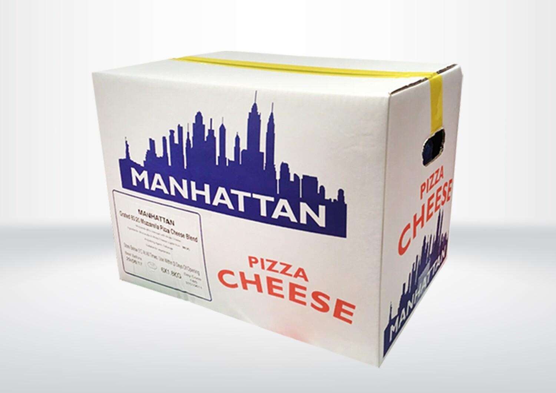 Manhattan Melt 80/20 GRATED Mozz Mix (Blue)