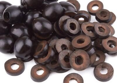 Black Olive Wedges
