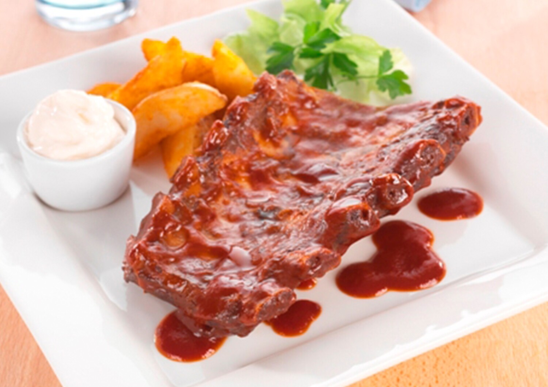 Half Rack BBQ Pork Loin Ribs